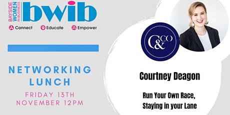 BWIB Networking Lunch - Run your own race tickets