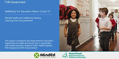 Wellbeing for Education programme  - Session 7 Group 2 tickets