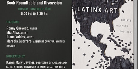 Latinx ART Book Roundtable with Artists and Curators tickets