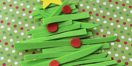 Eva Foam Christmas Cards (5yrs +) with NATALIE entradas