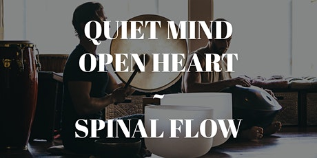 Copy of Quiet Mind, Open Heart ~ Spinal Flow with Stuart and Cam Watkins tickets