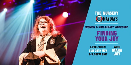 Women and Non-Binary People's Workshop: Finding your joy with Mara Joy tickets