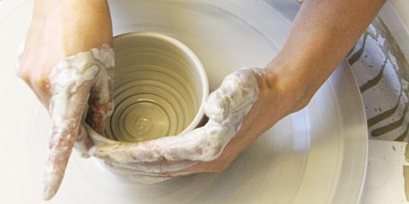 8Wk Beginners Pottery Throwing Wheel Course Tuesday 13th Apr  2021 7-9.15pm tickets