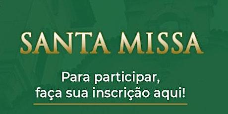 Santa Missa-25/10 ingressos