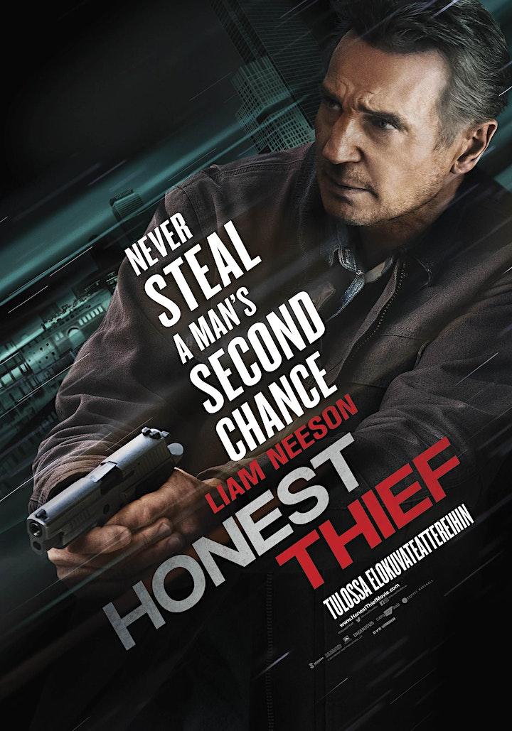 """Honest Thief"": Movie Night Private Screening image"