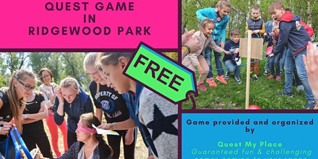 [F.R.E.E.] Game in the Park. Family & Kids Quest in Ridgewood, NJ tickets
