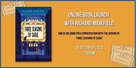 Three Seasons of Sadie - Online Book Launch with Richard Masefield tickets