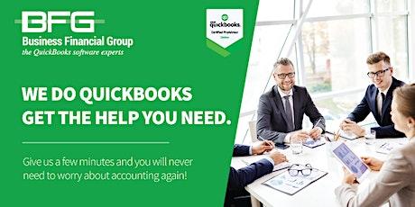 Virtual QuickBooks Training tickets