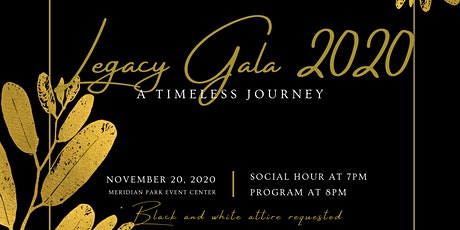 Legacy Gala 2020: A Timeless Journey tickets