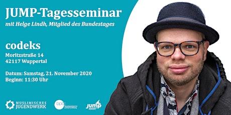 JUMP-Tagesseminar mit Helge Lindh, MdB Tickets