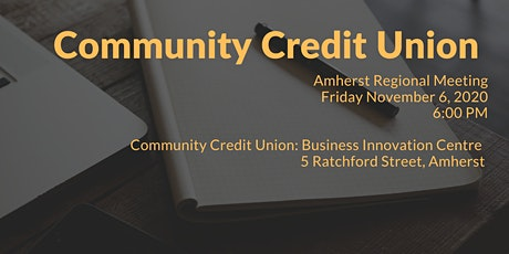 Community Credit Union Regional Meeting-Amherst tickets