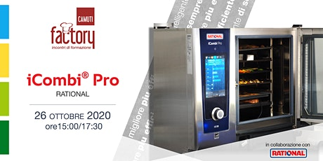 Gastronomia con  iCombi Pro Rational tickets