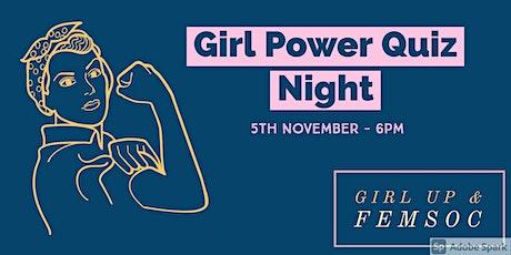 Girl Power Quiz Night tickets