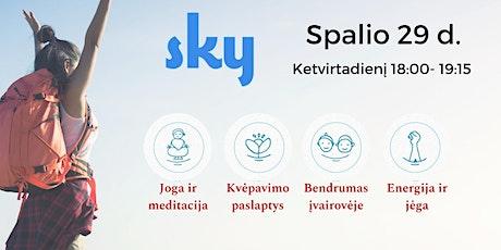 SKY meditacijos ir kvėpavimo kursai - nemokama  įvadinė paskaita entradas