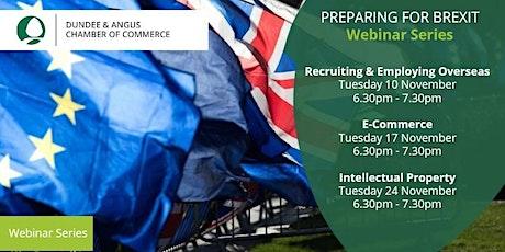 Preparing for Brexit Webinar Series tickets