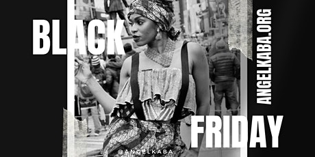 Black Friday Deal |  In Studio & Online AfroDance  Class with Angel Kaba tickets