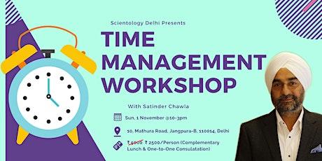 Effective Time Management Workshop tickets