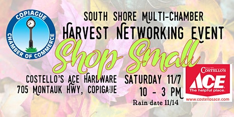 Multi-Chamber Harvest Networking Event tickets