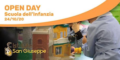 Scuole San Giuseppe - Open Day 24/10/20 - Scuola dell'Infanzia biglietti