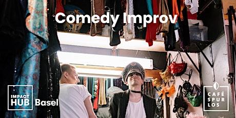 Comedy Improv in English tickets