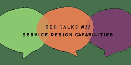 SSD#22: Service Design Capabilities tickets