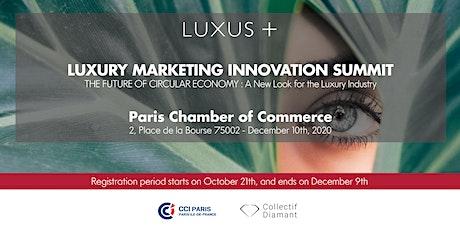 Luxury Marketing Innovation Summit 2020 tickets