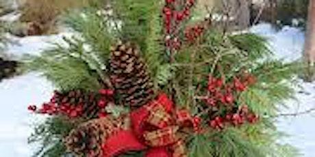Christmas Evergreen Pot Arrangment Class tickets