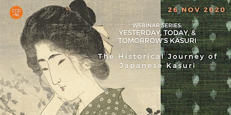 The Historical Journey of Japanese Kasuri tickets