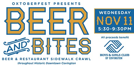 Oxtoberfest - Beer & Bites Sidewalk Crawl tickets
