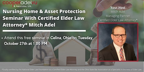 Nursing Home & Asset Protection Seminar - With Attorney Mitch Adel tickets
