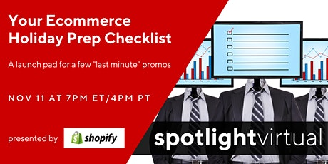 Your Ecommerce Holiday Prep Checklist tickets