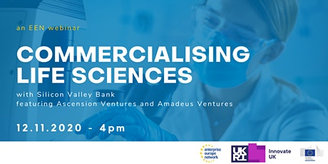 Commercialising Life Sciences w. Silicon Valley Bank tickets