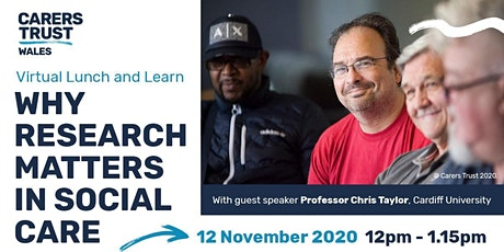 Lunch and Learn - Why research matters in social care tickets