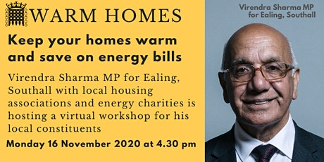 Warm Homes Workshop tickets