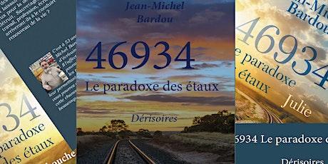 """Présentation-dédicace de la trilogie """"46934 le paradoxe des étaux"""""""