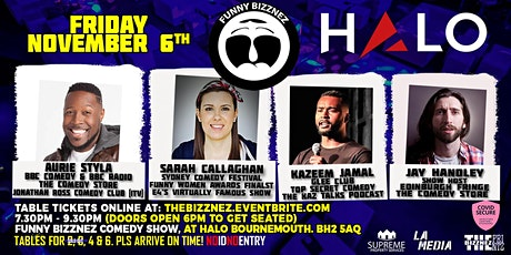 Funny Bizznez Comedy Bournemouth (Socially Distanced Table Only Show) tickets