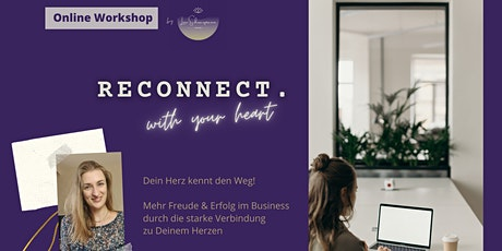 Reconnect. with your heart tickets