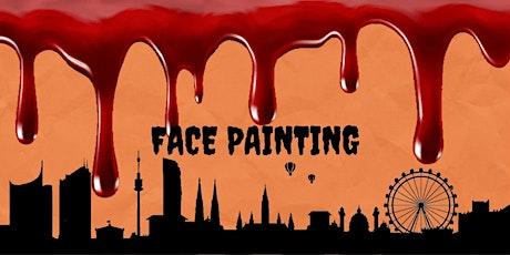 TSH Vienna Halloween Face Painting