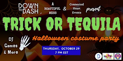 Virtual Trick or Tequila – Halloween Costume Party