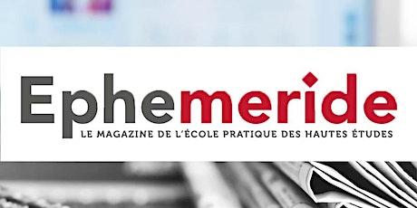 S'abonner au magazine EPHEMERIDE