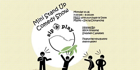 Mini Stand Up Comedy Show (Park Slope) tickets