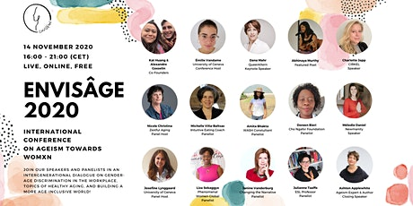Envisâge 2020 - International Conference on Ageism Towards Womxn tickets