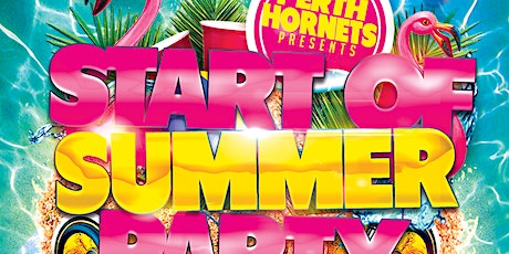 Perth Hornets Start Of Summer Party! tickets