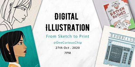 Digital Illustration: From Sketch to Print with Alice Coleman tickets