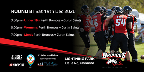 Round 8 - Perth Broncos v Curtin Saints tickets