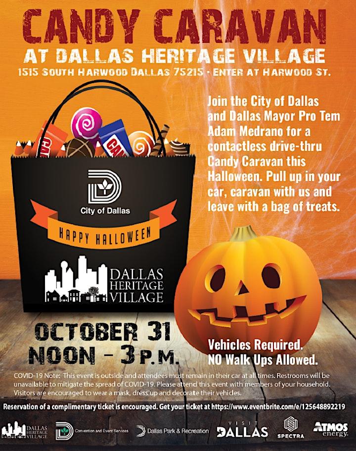 Candy Caravan at Dallas Heritage Village image