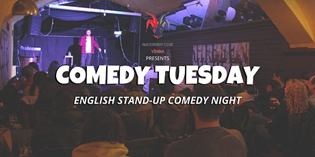 Comedy Tuesday at Shebeen Intl. Pub (English Stand-Up Comedy Night) tickets
