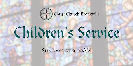 Children's Service (Sunday at 9:00AM) tickets