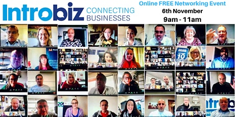 Introbiz Online UK & Global Networking Event With Tracey and Paul Smolinski tickets