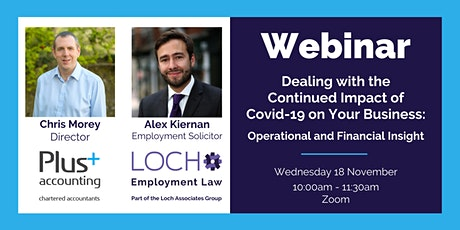 Dealing with the Continued Impact of Covid-19 on Your Business tickets